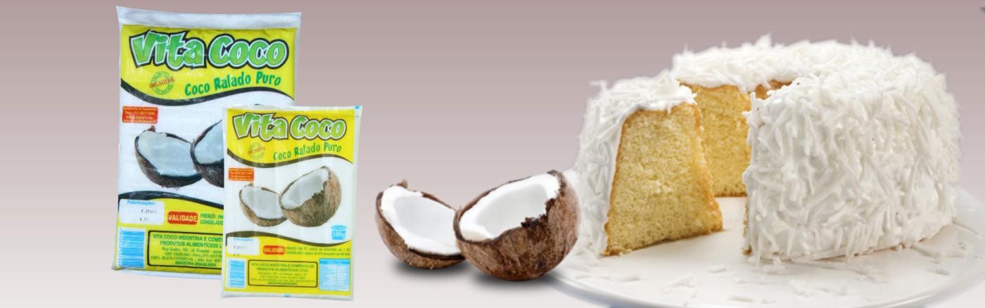Fabrica de coco ralado Jundiai SP - distriduidor Vita Cococ